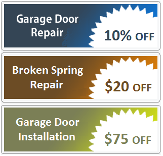 special offers -garage door repair fitchburg wi